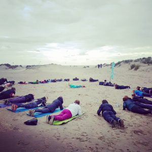 Spirit Running buiten yoga kelly Schockman Mindful and happy hardlopen opleiding yoga docente